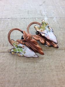 Matisse copper earrings